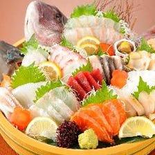 【人気】全国の鮮魚を心逝くまで堪能