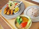 シェフの気まぐれランチ ~肉料理・豚汁・雑穀米~