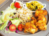 シェフのおすすめ肉料理と副菜 ~タンドリーチキン~