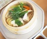 シェフのおすすめ魚料理と副菜