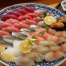 ■厳選国産食材がネタの江戸前寿司
