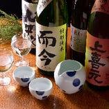 【プレミアム飲み放題】 お一人様+500円で銘柄日本酒や焼酎も飲み放題に♪