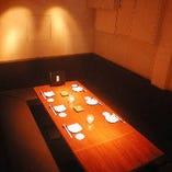 接待にもぴったりなソファー個室(12名様まで)