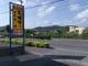 当店の前方に広がるバンナ岳八重山ホタルの名所。