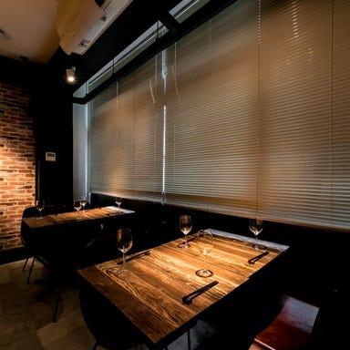 熟成肉×鉄板焼 URAROJI ウラロジ  店内の画像