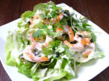炙り海老サラダ