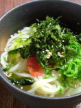 <おすすめ>梅干と岩海苔のさっぱり冷麺