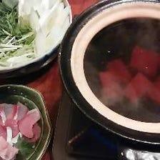 絶品・あったか鍋【鰤シャブ】