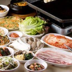 韓国料理 食べ放題のお店 釜山亭 香椎店