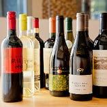 今が飲み頃、今しか飲めない旬のワインを店長自ら厳選して、シーズンごとに入れ替えております