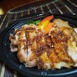若鶏の醤油ガーリックステーキ