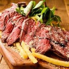 絶品牛ステーキのタリアータ