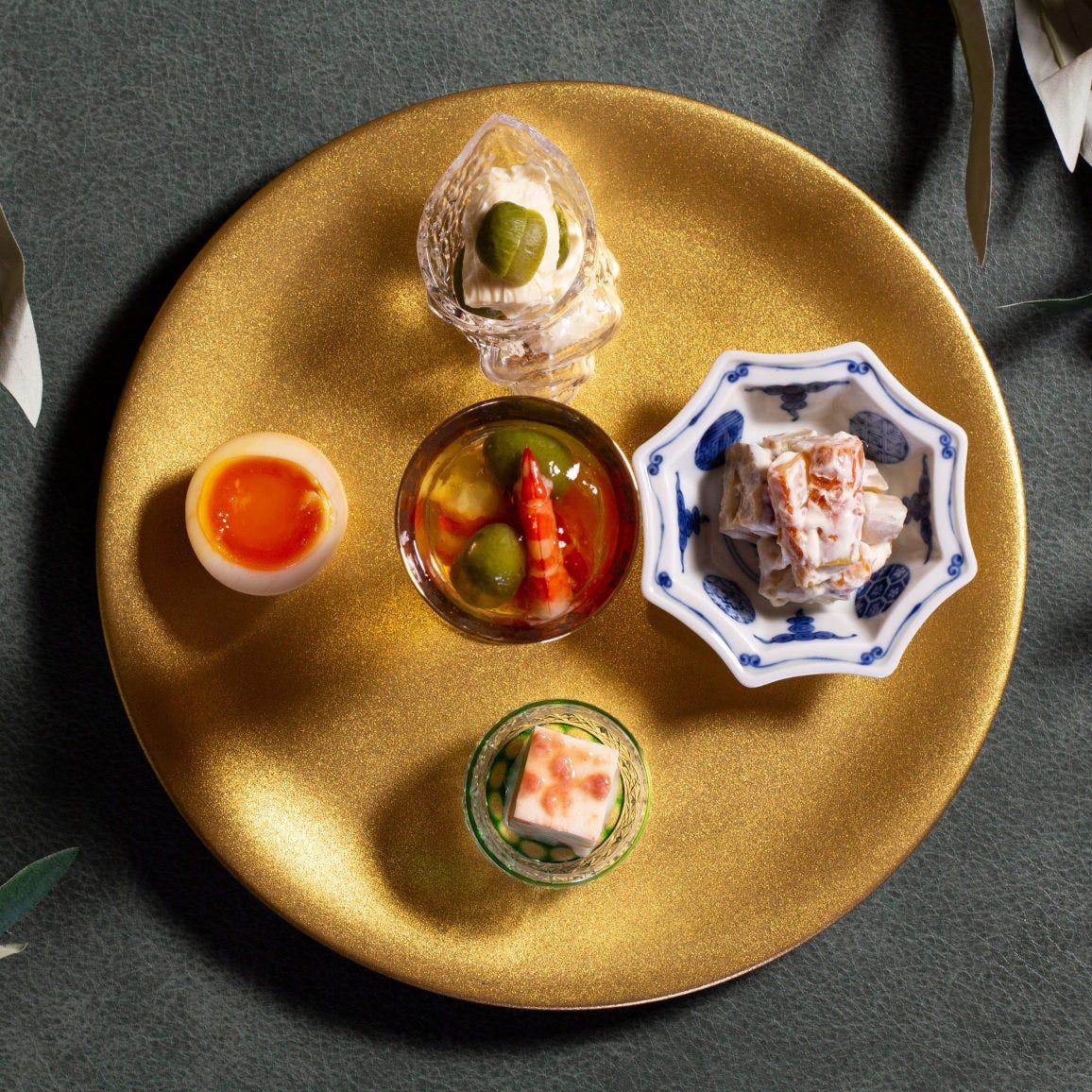 日本料理の「六味」