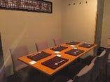 人気の半個室。接待・ご会食にもどうぞ。3名様~最大16名様まで