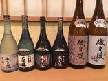 常時10種類の日本酒を、ご用意しております。