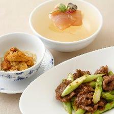◆豪奢な中国料理コース