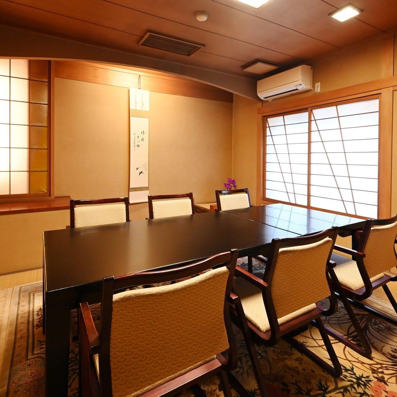 ゆったりとお過ごしいただける完全個室をご用意しております