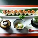穴子寿司定食