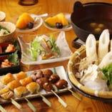 【比内地鶏三昧】ご宴会用 コースも4500円よりご用意!