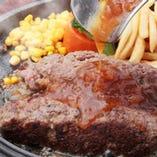 国産牛100%ハンバーグ 和風オニオンソース