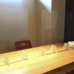飛沫防止板も設置