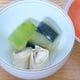 夏懐石コース 丸茄子、冬瓜、太刀魚東寺みぞれ煮