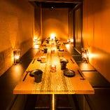 ワンランク上の落ち着いた空間で、最高の料理とお酒をご堪能ください♪