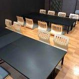 はなれの2階宴会場8名様から18名様までの個室を3部屋ご用意しております。