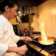 イタリア料理歴30年以上のシェフ