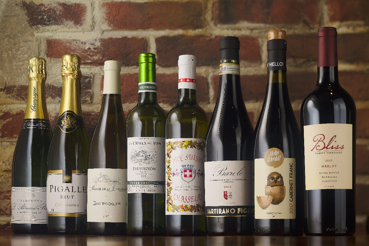 グリルと相性バッチリのワイン多数