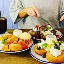 ◆SNSで話題沸騰!パンケーキ&ケーキ