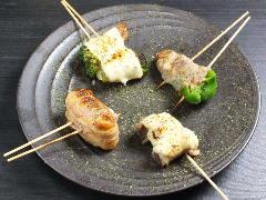 博多屋台 野菜肉巻き串 ちかいち
