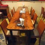 テーブル席【2~8名様】