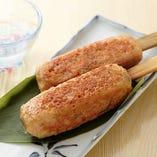 これは食べてほしい「あじわい鶏の生つくね串」♪