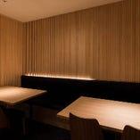 情緒溢れる和空間半個室。最大12名様可能