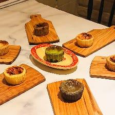 グルテンフリーバスク風チーズケーキ