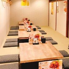 人気の宴会個室