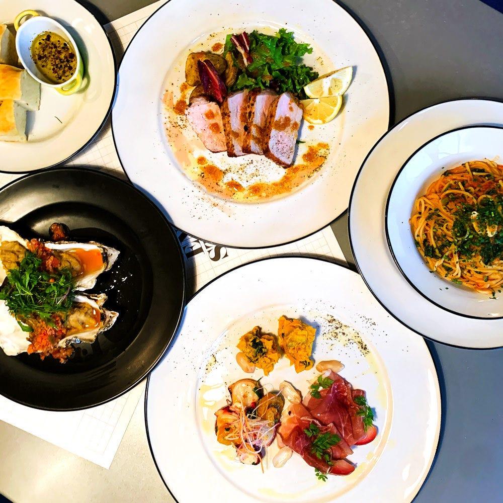 【~12/18まで】お料理のみ全6品『スタンダードプラン』3500円 デート、パーティーに◎