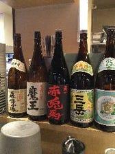 海鮮に合う焼酎や日本酒各種ご用意♪