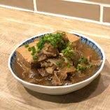 すき焼き肉豆腐