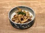炙り鶏皮ポン酢