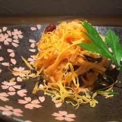 ミモレットチーズとにんぢんのサラダ