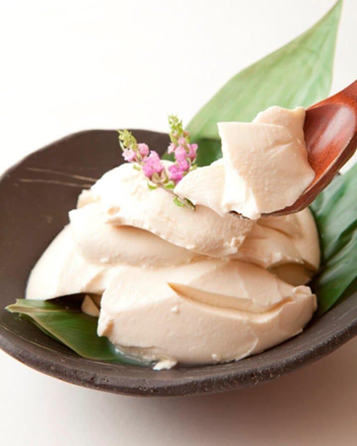 愛知県高浜産の大豆(フクユタカ)に伊豆大島産の天然にがりを使用