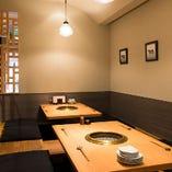 掘りごたつ席【2~6名様】少人数での会食や接待、ご家族・仲間とのお食事に