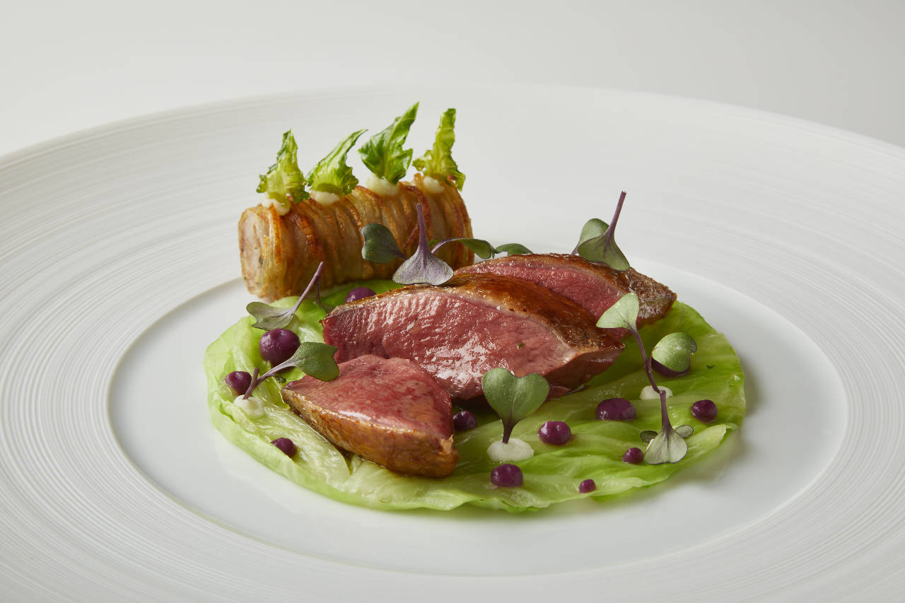 ■フランス産肉使用のモダンフレンチ