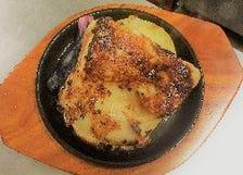 チキンガ―リックステーキ