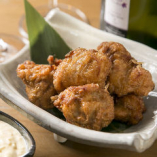 鶏のから揚げ  燻製タルタルソース添え