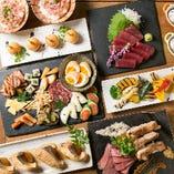 希少部位牛肉・海老・鰻など豪華な燻製料理を心ゆくまで堪能できる『ソレカラプラン』