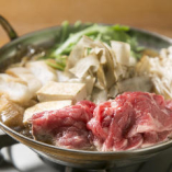 北海道産 牛リブロースのすき焼き