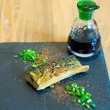 旬の燻製お魚料理
